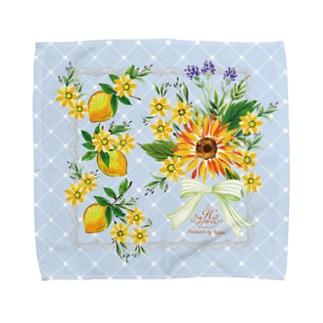 貴婦人のハンケチF Towel handkerchiefs