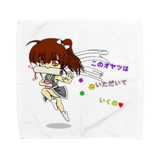 愛娘(仮):くのいち Towel handkerchiefs