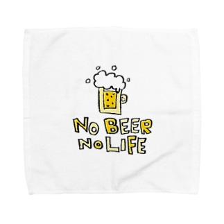 Children's Art / ノービールノーライフ NO BEER NO LIFE Towel handkerchiefs