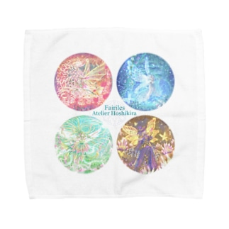 フェアリエル 4Spirits  Towel handkerchiefs