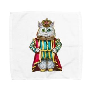 キングキャット Towel handkerchiefs
