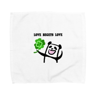 LOVE BEGETS LOVE Towel handkerchiefs