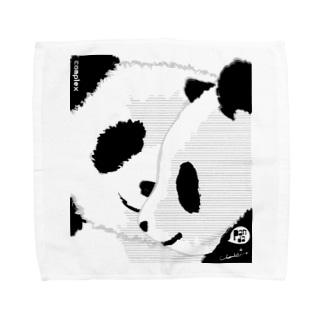 PANDA COMPLEX パンダ頭複合体 Towel handkerchiefs