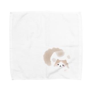 もふもふレイくん Towel handkerchiefs