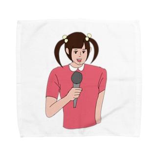 ツインてる美 Towel handkerchiefs