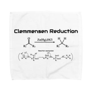クレメンゼン還元(有機化学) Towel handkerchiefs