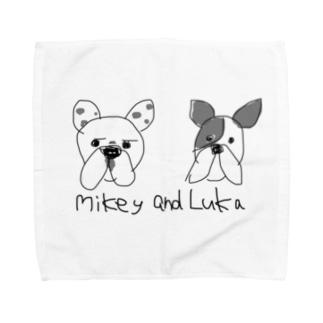 Mikey and Luka Towel handkerchiefs