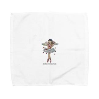 BONNE CHANCE Towel handkerchiefs