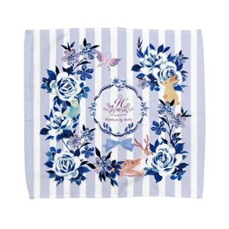 貴婦人のハンケチH Towel handkerchiefs