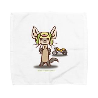テン:バイカー Towel handkerchiefs