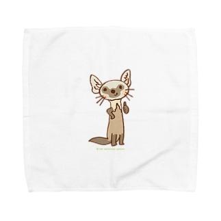 テンのキャラ:サムズアップ👍 Towel handkerchiefs