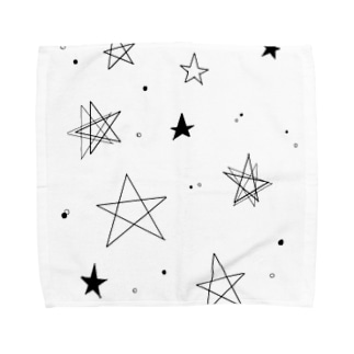 スター☆スター Towel handkerchiefs