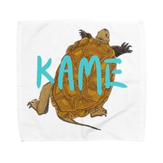 KAME-ニホンイシガメver.- Towel handkerchiefs