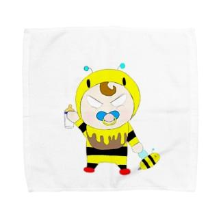 ぶんぶん🐝🧫のぶんぶんベイビー Towel handkerchiefs