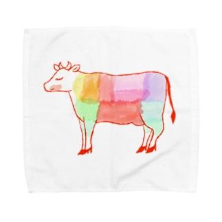 うし好き Towel handkerchiefs