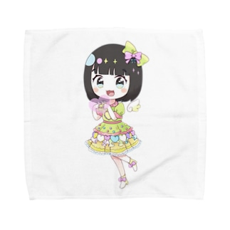 ラジオてんこもりグッズ【アイドル鳥越さん】 Towel handkerchiefs