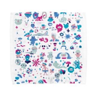 のん気なモノたち Towel handkerchiefs