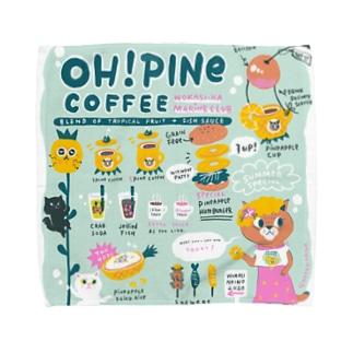オーパインコーヒー Towel handkerchiefs
