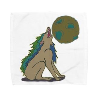 雄叫び Towel handkerchiefs