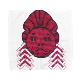 こぎん金魚ねぶた Towel handkerchiefs