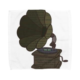 蓄音機 Towel handkerchiefs