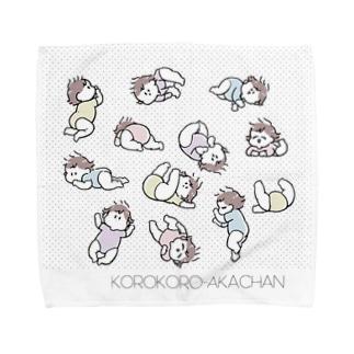 コロコロ Towel handkerchiefs
