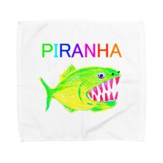 ピラニア Towel handkerchiefs