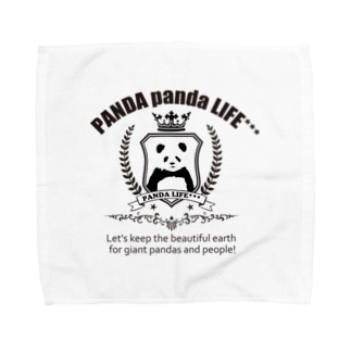エンブレムパンダ Towel handkerchiefs
