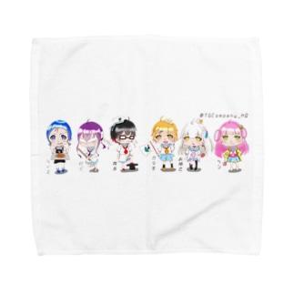 夏バージョン 全員集合! Towel handkerchiefs