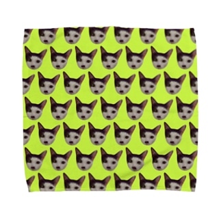 nyaowanco家グッズ Towel handkerchiefs