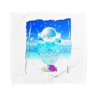 Moon Soda Towel handkerchiefs