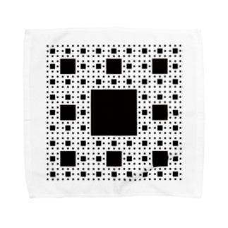 Fractal Sierpinski Carpet Towel handkerchiefs