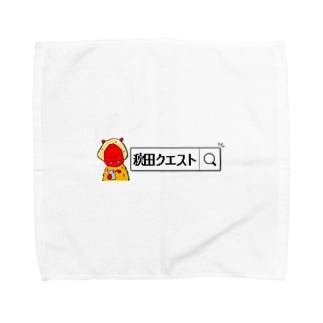 スマホなまはげ Towel handkerchiefs