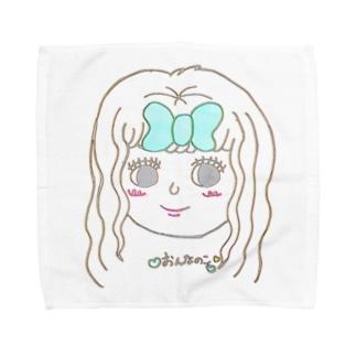 かわいいかわいいきょうこちゃん Towel handkerchiefs