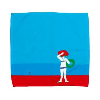 I wanna go to sea!! Towel handkerchiefs