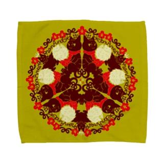 Nan and Kii オークルタオル Towel handkerchiefs