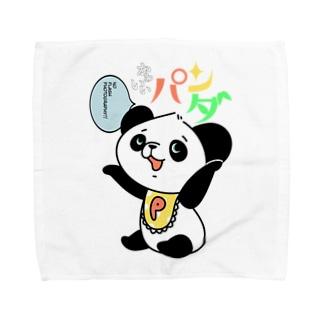 ともかくかわいいパンダちゃん Towel handkerchiefs