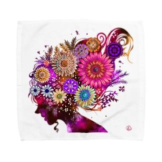 FlowerGirl Towel handkerchiefs