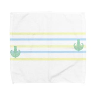 ジェラートラテアート~Landscape~ /パイナップル×ブルーハワイ Towel handkerchiefs