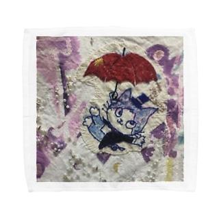 Mr.toneくんやってきた。 Towel handkerchiefs