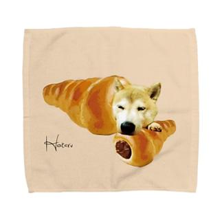 うちの子チョココロネ【Hotaru】 Towel handkerchiefs