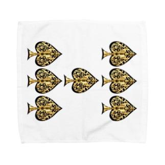 スペード Towel handkerchiefs