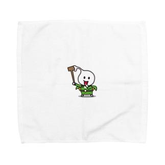 モッチグリーン Towel handkerchiefs
