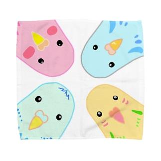 インコのイラスト Towel handkerchiefs
