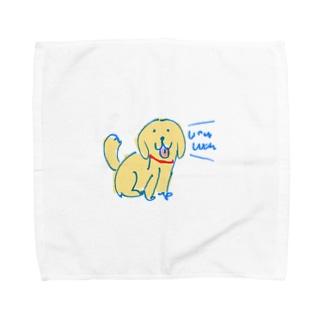 WanWanPandaのゴル Towel Handkerchief
