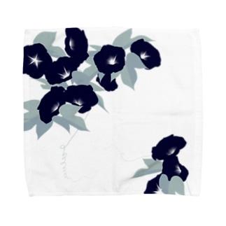 朝顔 Towel handkerchiefs