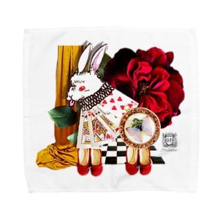 白兎と赤い靴1 Towel handkerchiefs