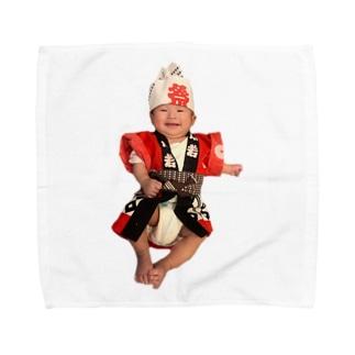 がんばれコッちゃん Towel handkerchiefs