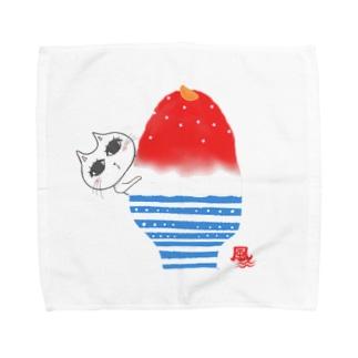 ハイケイ コオリオンチュウ 2020★ Towel handkerchiefs