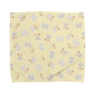 アサリの酒蒸し Towel handkerchiefs